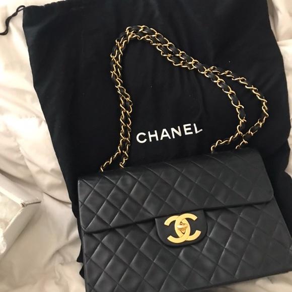 3bd1c8ee2757 Chanel Classic Maxi Flap Bag